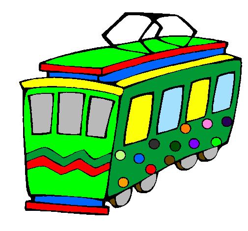 dessin tramway imprimer