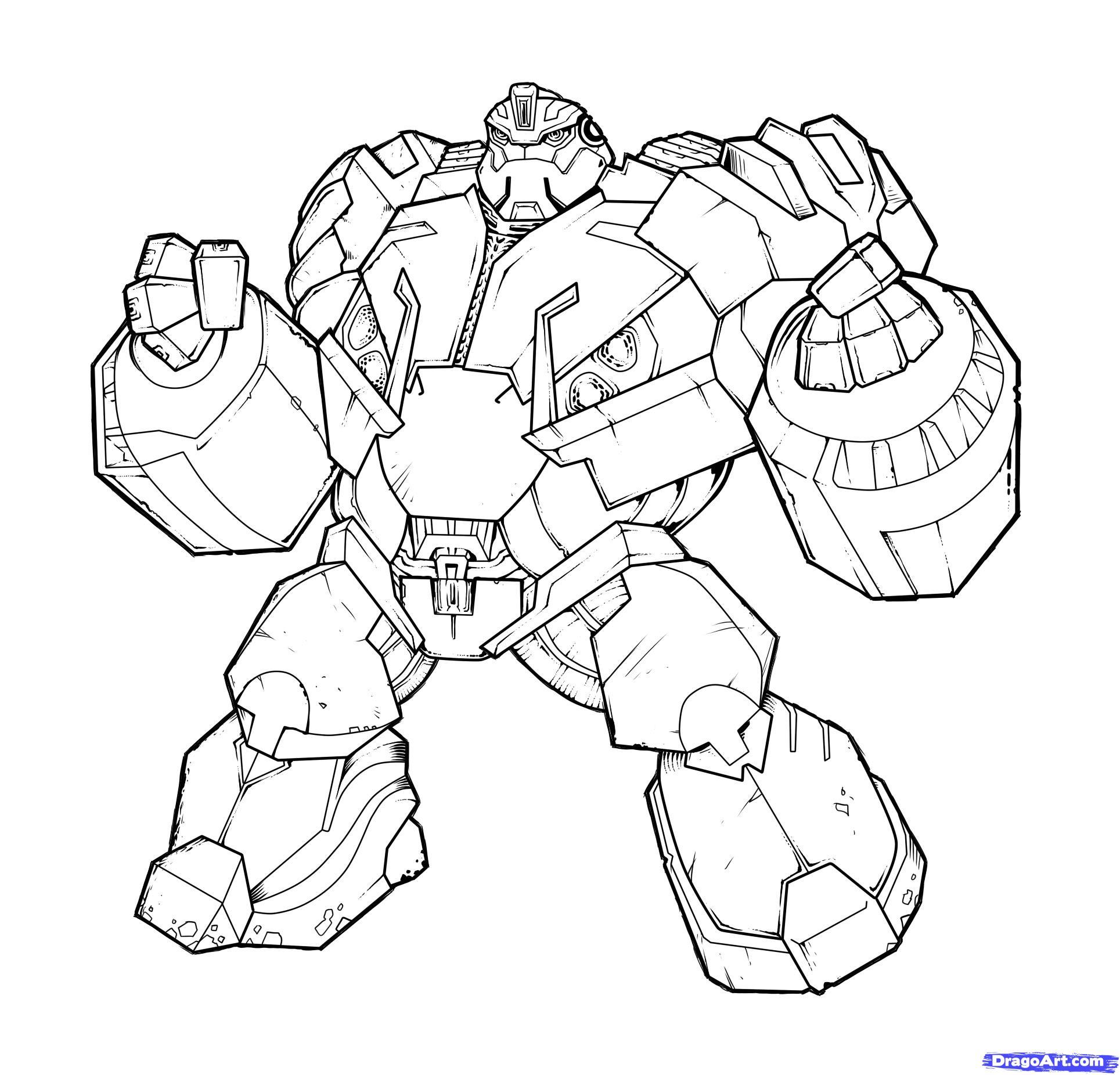 dessin � colorier transformers rescue bots a imprimer