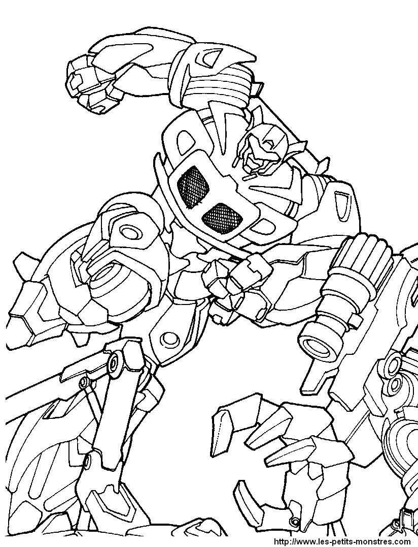 coloriage à dessiner transformers en ligne gratuit