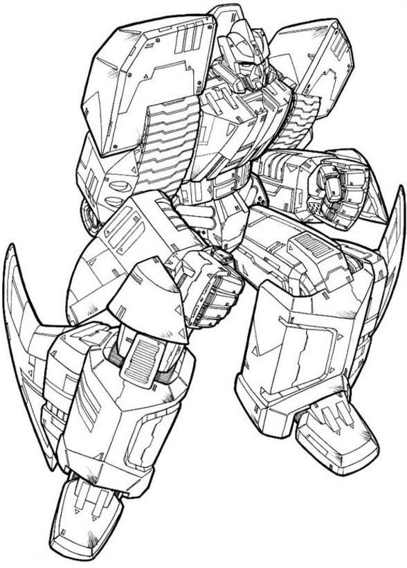 14 dessins de coloriage Transformers 3 à imprimer