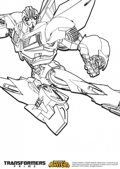 14 dessins de coloriage Transformers