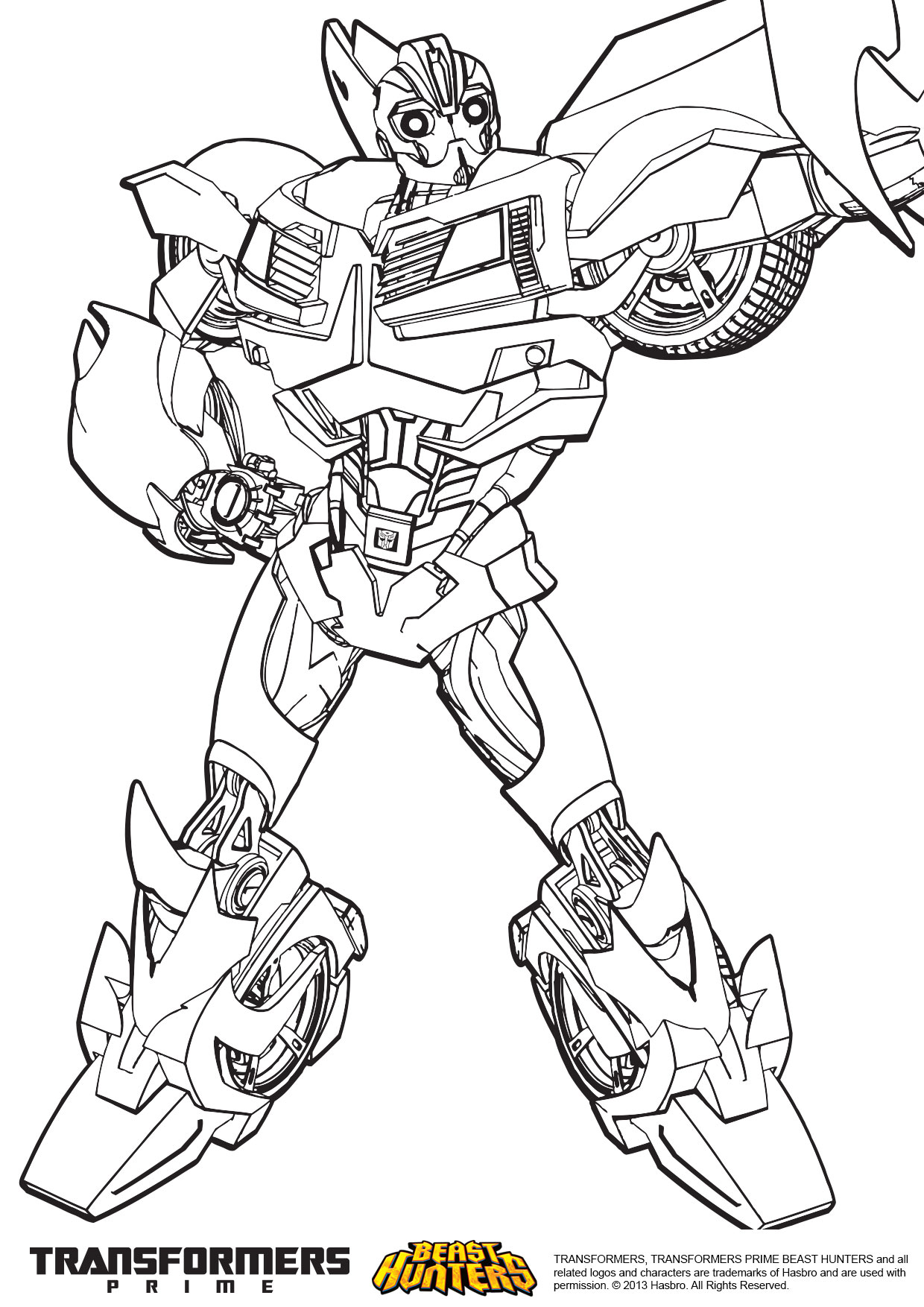 transformers prime coloring pages bumblebee eliolera com