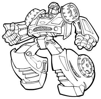 dessin transformers rescue bots a imprimer