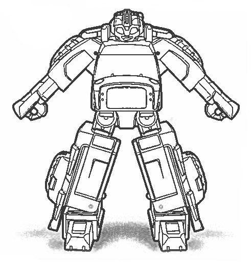 coloriage transformers rescue bots en ligne
