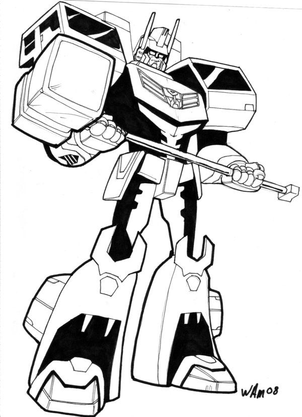55 dessins de coloriage transformers rescue bots imprimer - Dessin anime transformers ...