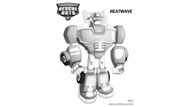 55 Dessins De Coloriage Transformers Rescue Bots à Imprimer