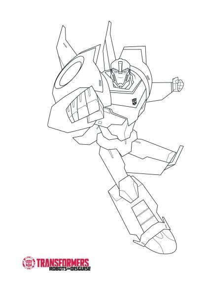 20 dessins de coloriage transformers robots in disguise - Dessin a colorier transformers ...