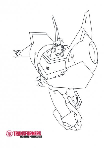20 dessins de coloriage transformers robots in disguise 224