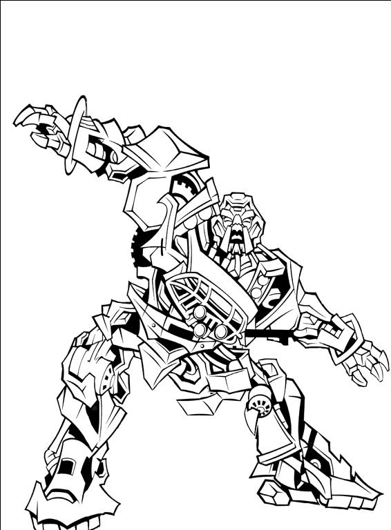 11 dessins de coloriage transformers starscream imprimer for Starscream coloring page