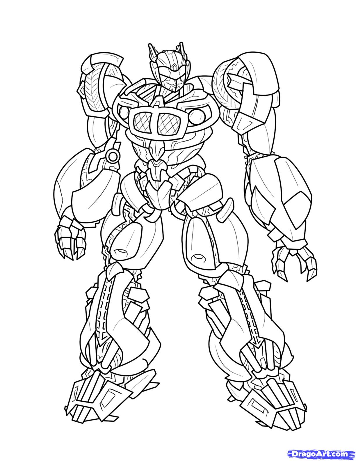 Coloriage dessiner transformers 1 - Dessin anime transformers ...