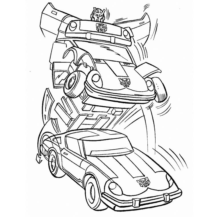 dessin de transformers 3 le film