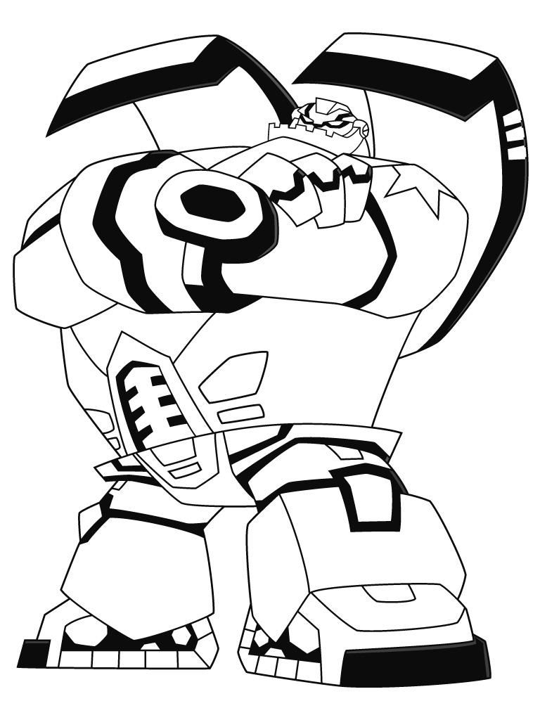 dessin à colorier transformers devastator