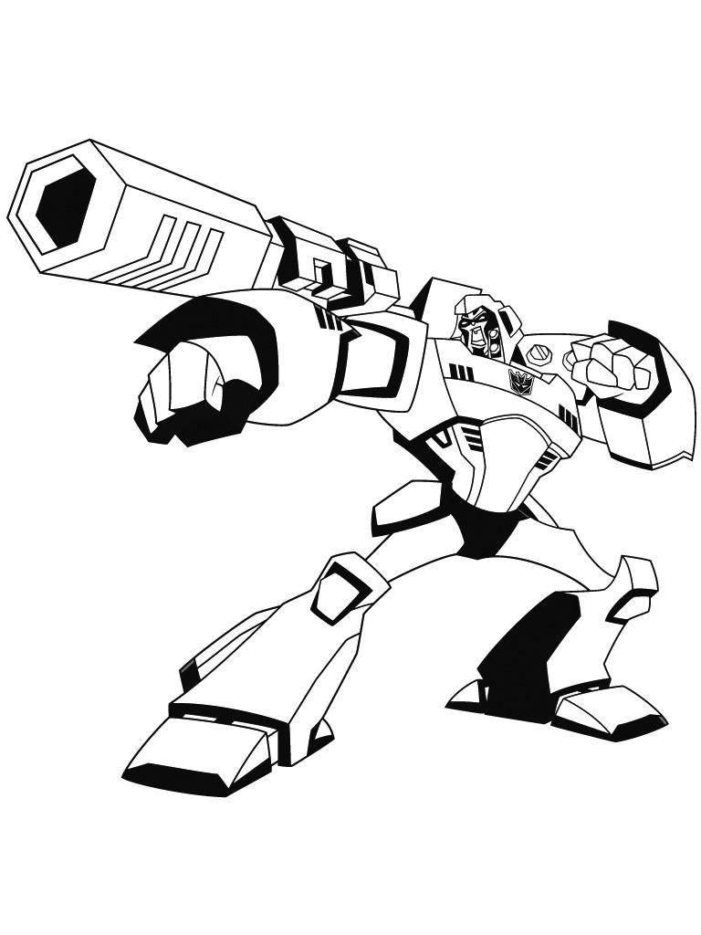 Dessin a colorier transformers prime - Transformers dessin ...