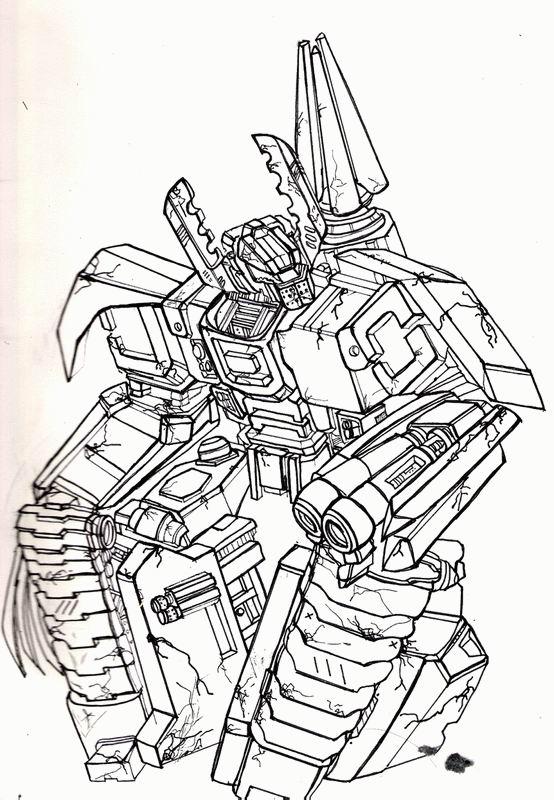 dessin de transformers bumblebee