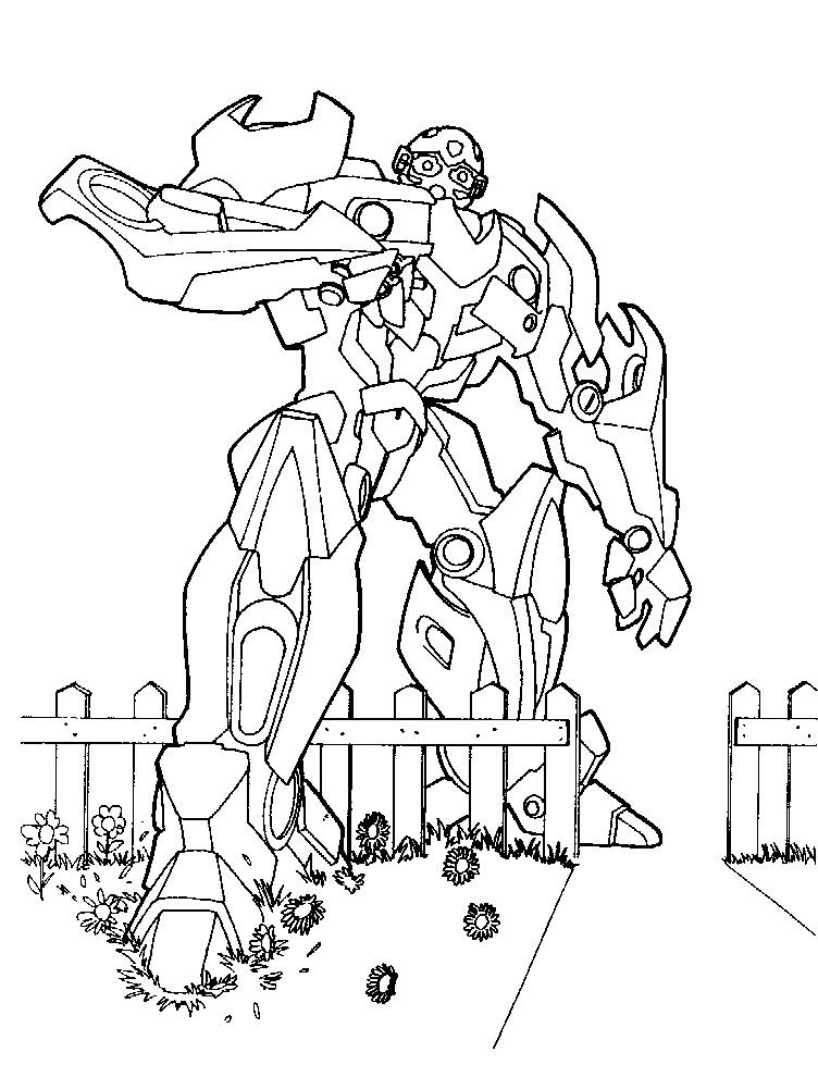 dessin à colorier imprimer transformers 2