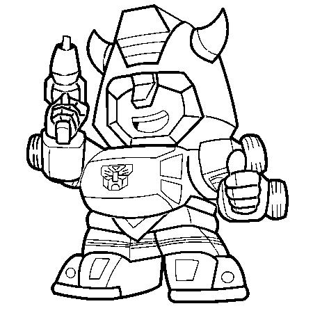 dessin a colorier transformers prime
