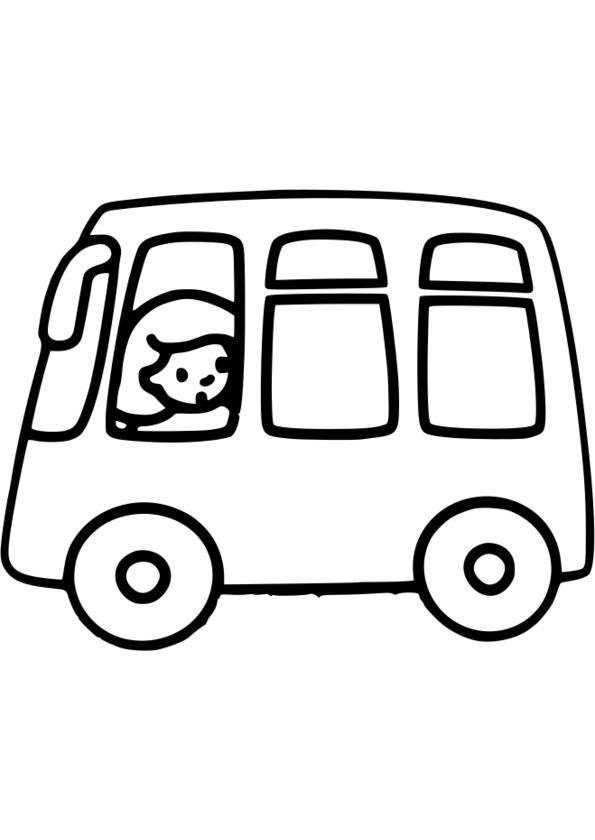 coloriage véhicule de transport