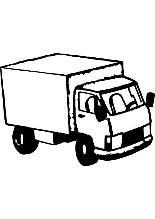 dessin transport camion