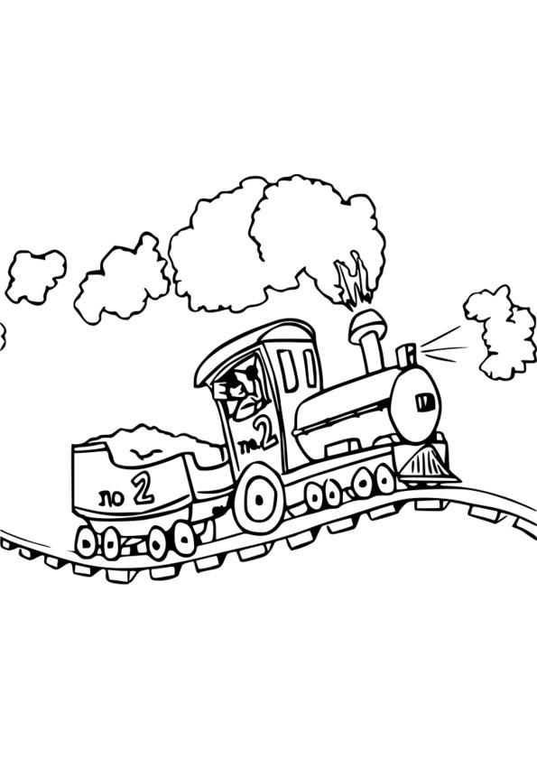 dessin de transport a imprimer