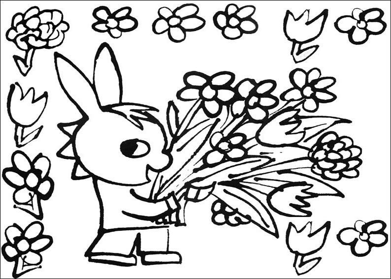 coloriage à dessiner trotro gratuit