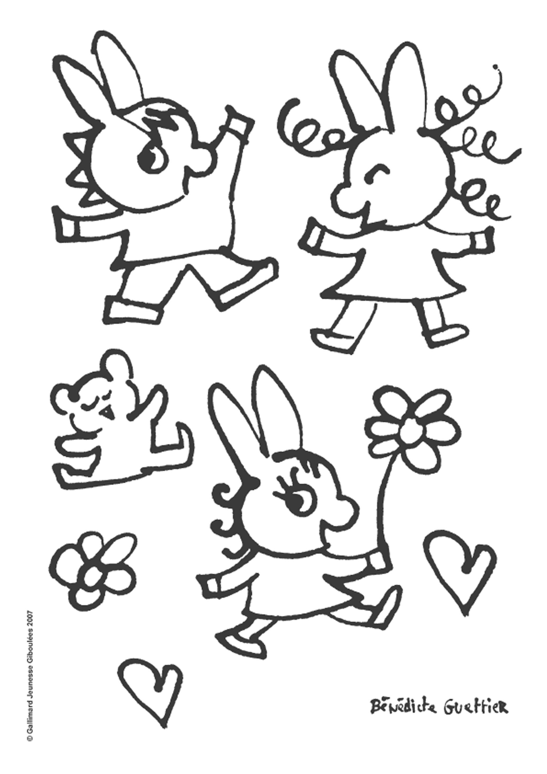 coloriage à dessiner trotro en ligne