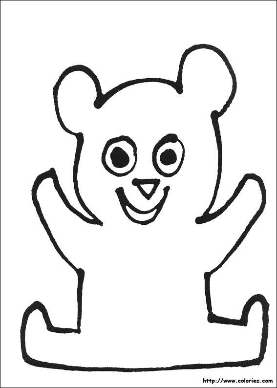 coloriage à dessiner trotro rigolo