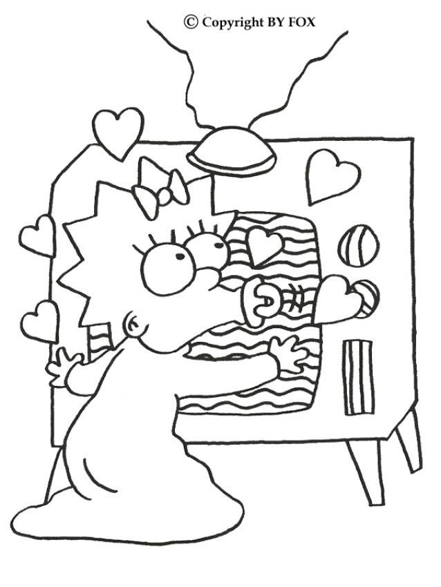 dessin tv petite fille