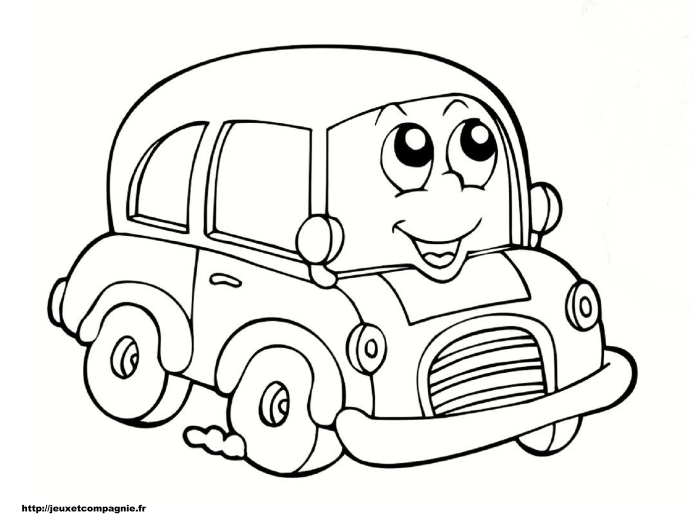 dessin ƒ colorier vehicule a imprimer