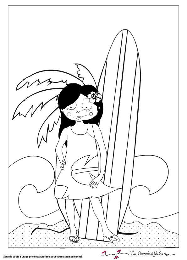 143 dessins de coloriage vacances hawaii imprimer - Dessin de pecheur a imprimer ...
