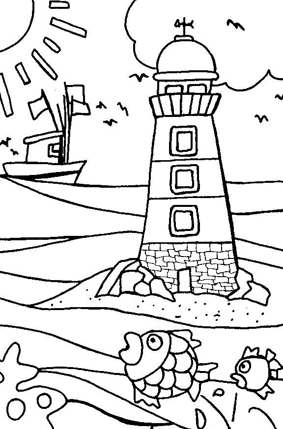 dessin vacances imprimer