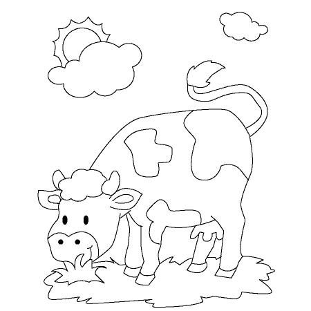 dessin vache qui rit