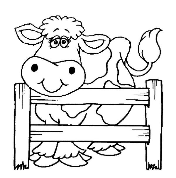 dessin à colorier lola la vache