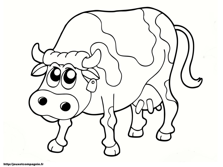 Dessin vache et taureau - Dessin vaches ...