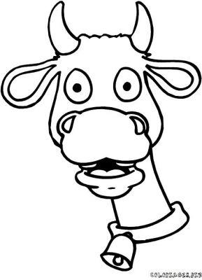 Dessin ã Colorier Une Vache