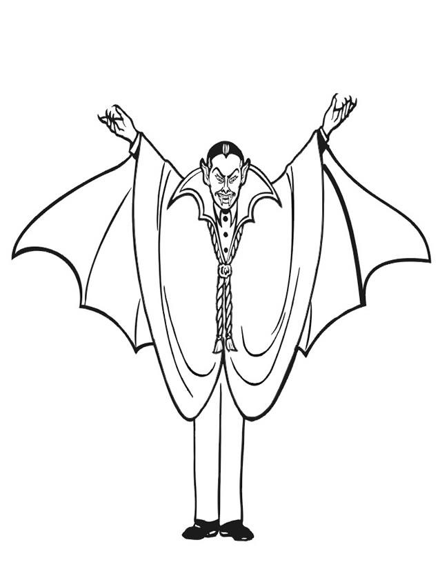 dessin vampire fille