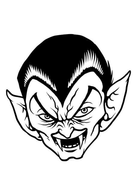 dessin vampire diaries a imprimer