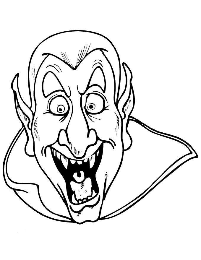 dessin vampire à imprimer gratuit
