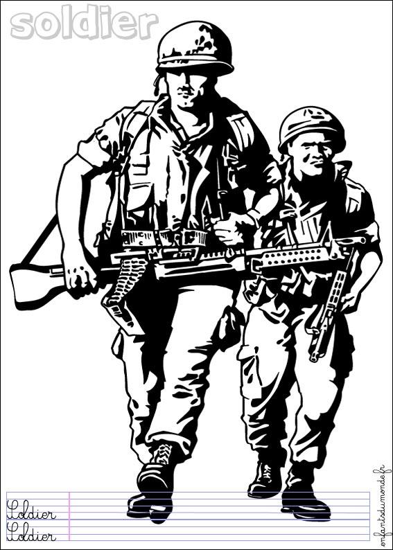 19 dessins de coloriage Véhicule Militaire à imprimer