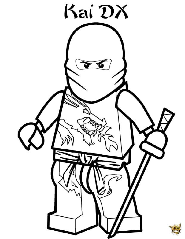 Pin coloriage ninjago on pinterest - Coloriage ninja go ...
