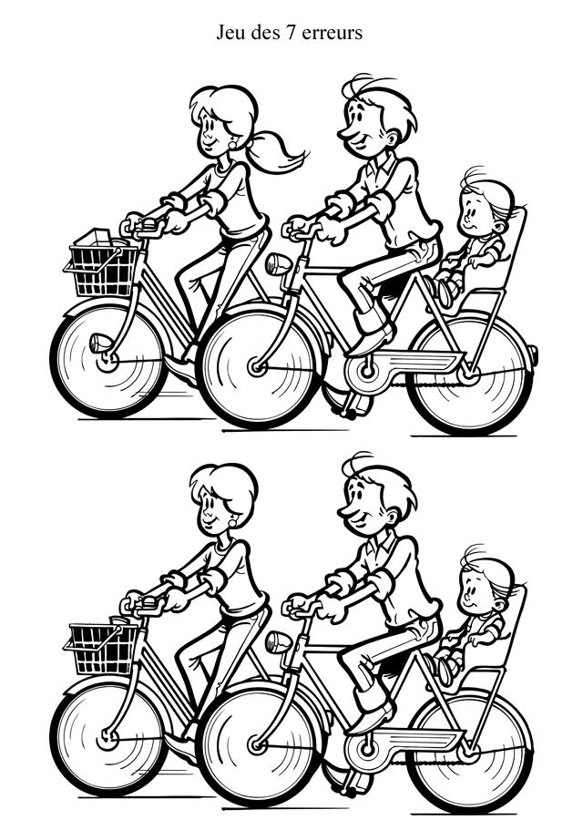 95 dessins de coloriage velo a imprimer imprimer - Jeu moto gratuit facile ...