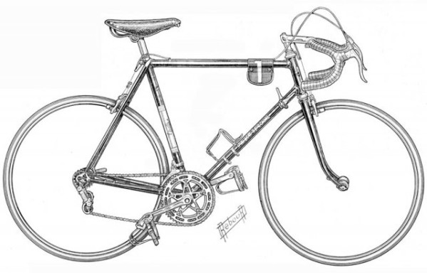 92 dessins de coloriage velo course imprimer - Bicyclette dessin ...