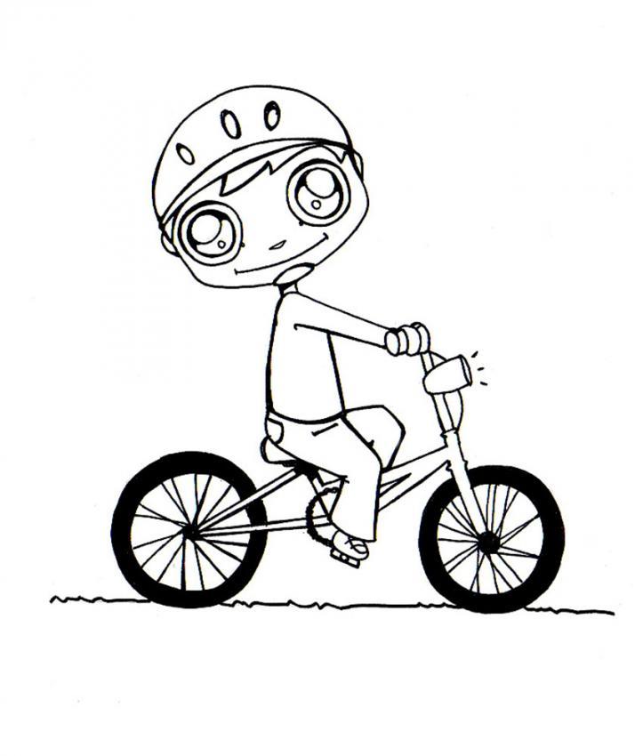 coloriage vélo en ligne