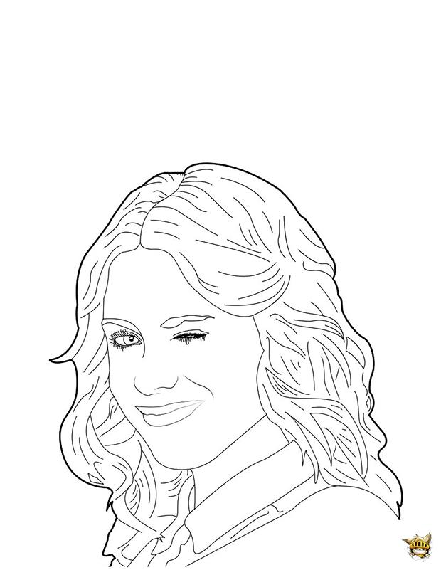 dessin violetta disney a imprimer