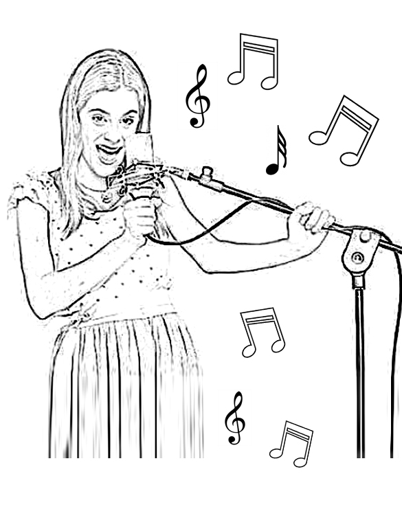 violetta coloring pages - photo#30