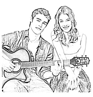 coloriage.tv violetta