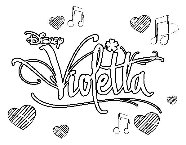 Dessin colorier violetta gratuit en ligne - Violetta en coloriage ...