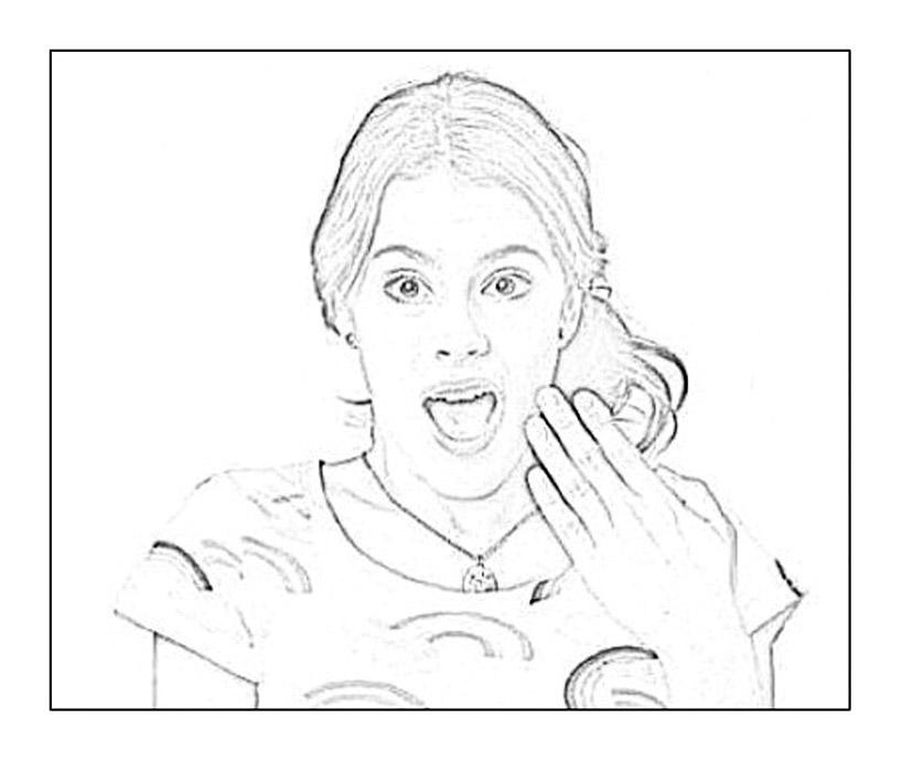 dessin violetta et ludmila
