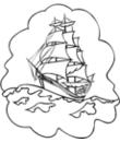 coloriage à dessiner voilier course