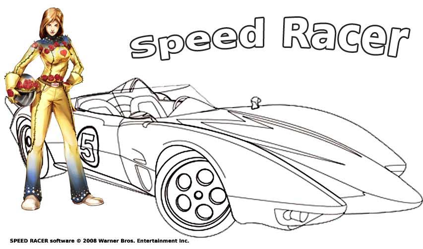 dessin voiture de course facile