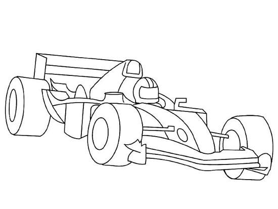 dessin roary la voiture de course